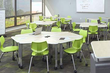 Prefab classroom design